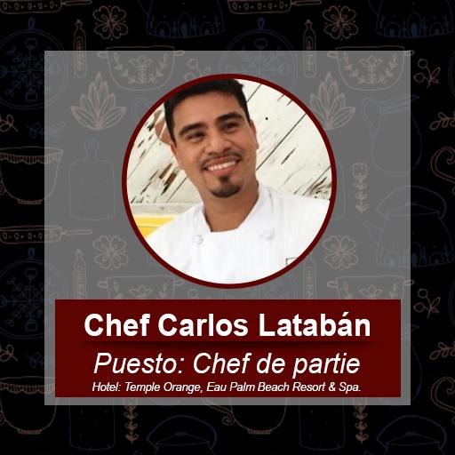 Chef Carlos Latabán
